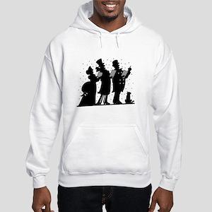 Christmas Carolers Hooded Sweatshirt