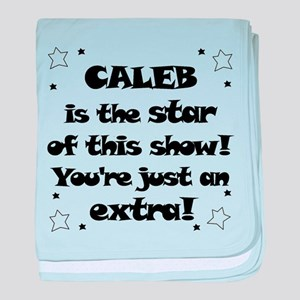 Caleb is the Star baby blanket