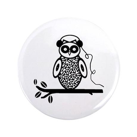 """Otis the Owl 3.5"""" Button"""