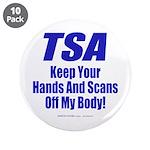 """TSA Hands 3.5"""" Button (10 pack)"""
