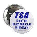 """TSA Hands 2.25"""" Button (100 pack)"""
