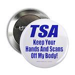 """TSA Hands 2.25"""" Button (10 pack)"""