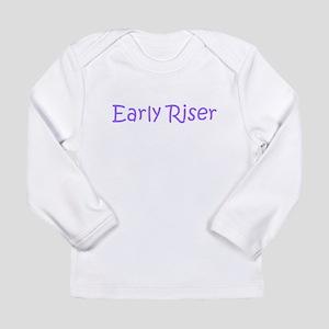 Early Riser Long Sleeve Infant T-Shirt