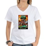 BEAN! The D2 RPG Women's V-Neck T-Shirt