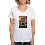BEAN! The D2 RPG Women's V-Neck T-Shirt