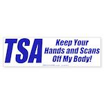 TSA Hands (Bumper Sticker)
