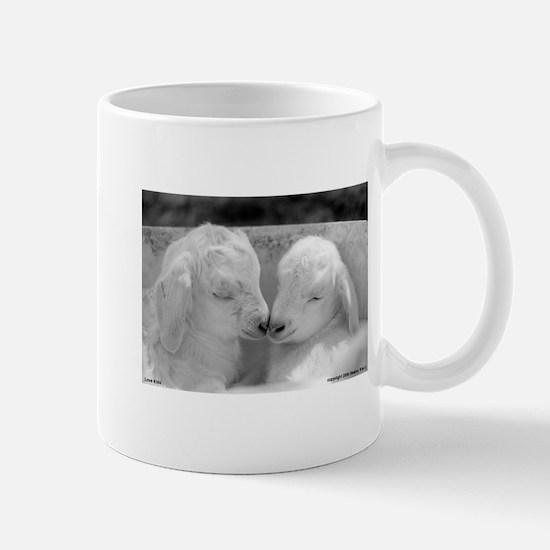 Angora Baby Goat Mug