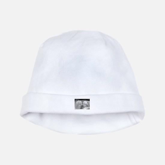 Angora Goat baby hat