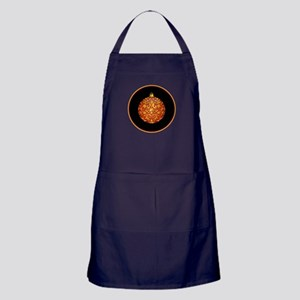 Gold Leaf Ornament Apron (dark)