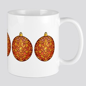 Gold Leaf Ornament Mug