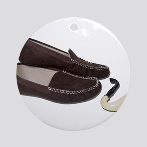 Pipe Slippers Ornament (Round)