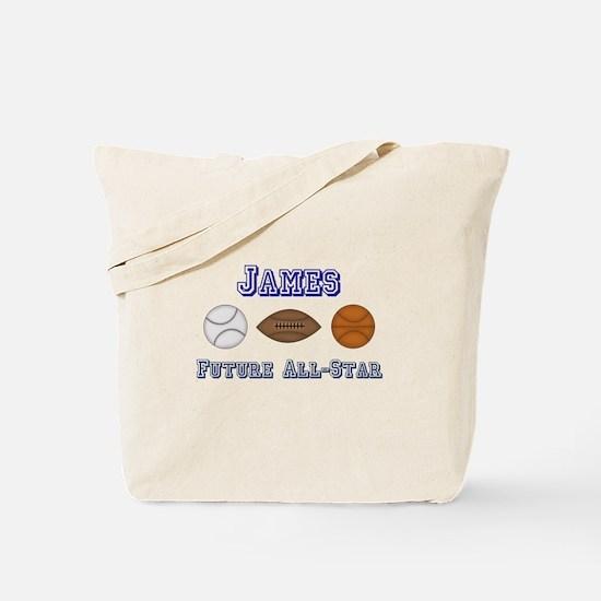 James - Future All-Star Tote Bag