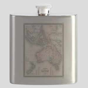 Vintage Australia & Southeastern Asia Map (1 Flask