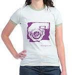 Boostgear Turbo Womens Jr. Ringer T-Shirt