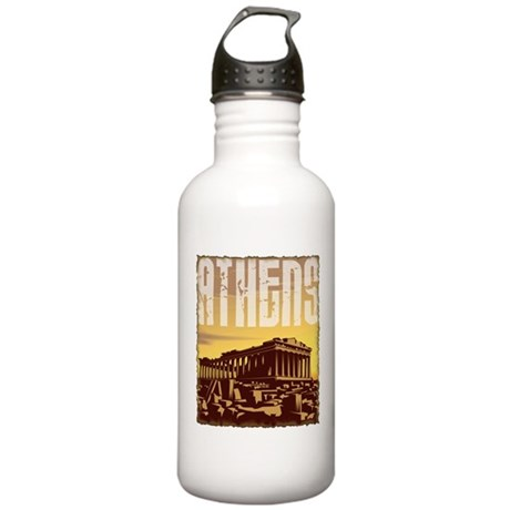 Athens Stainless Water Bottle 1.0L