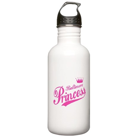 Baltimore Princess Stainless Water Bottle 1.0L