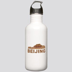 Vintage Beijing Stainless Water Bottle 1.0L