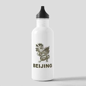 Vintage Dragon Beijing Stainless Water Bottle 1.0L