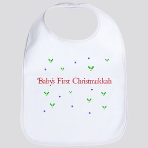 Baby's first Christmukkah Bib