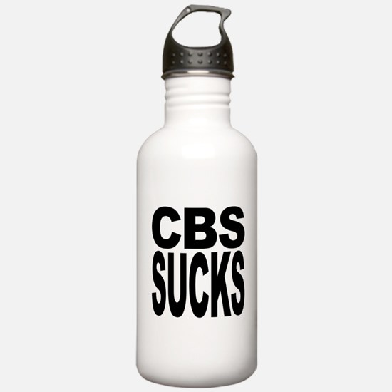 CBS Sucks Water Bottle