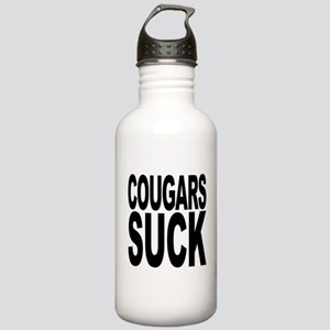 Cougars Suck Stainless Water Bottle 1.0L