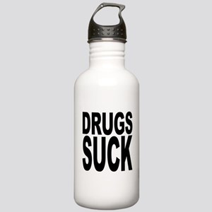 Drugs Suck Stainless Water Bottle 1.0L