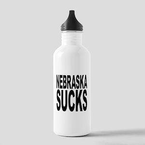 Nebraska Sucks Stainless Water Bottle 1.0L