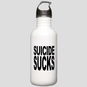 Suicide Sucks Stainless Water Bottle 1.0L
