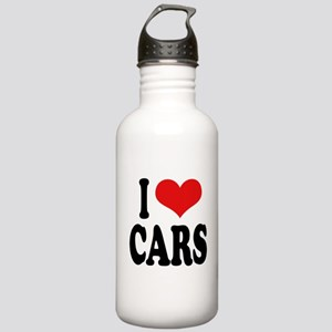 I Love Cars Stainless Water Bottle 1.0L