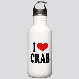 I Love Crab Stainless Water Bottle 1.0L
