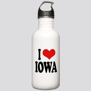 I Love Iowa Stainless Water Bottle 1.0L