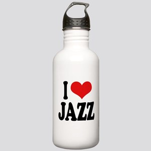 I Love Jazz Stainless Water Bottle 1.0L