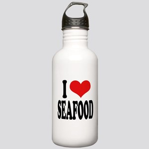 I Love Seafood Stainless Water Bottle 1.0L