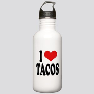 I Love Tacos Stainless Water Bottle 1.0L