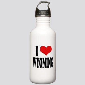 I Love Wyoming Stainless Water Bottle 1.0L
