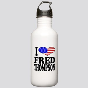 I Love Fred Thompson Stainless Water Bottle 1.0L