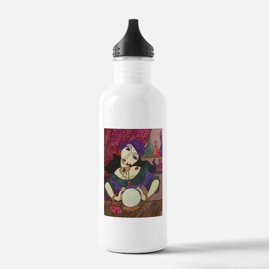 Crystal Ball Reader Water Bottle