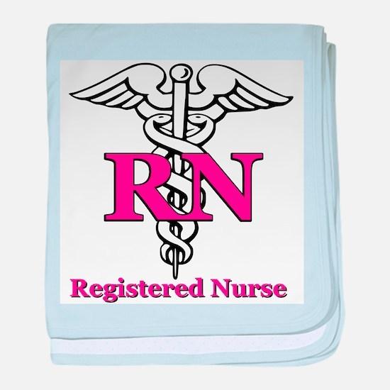Registered Nurse baby blanket