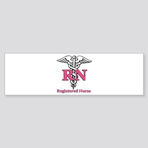 Registered Nurse Sticker (Bumper)