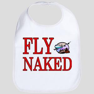 fly naked Bib