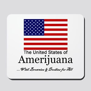 Amerijuana Mousepad