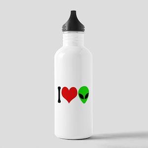 I Love Aliens Stainless Water Bottle 1.0L