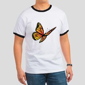 Butterfly Monarch Ringer T