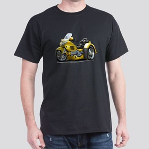 Goldwing Yellow Trike Dark T-Shirt