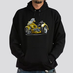 Goldwing Yellow Trike Hoodie (dark)