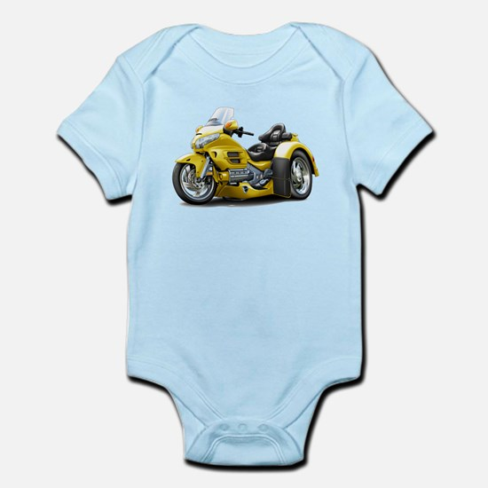 Goldwing Yellow Trike Infant Bodysuit
