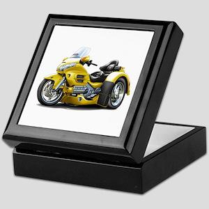 Goldwing Yellow Trike Keepsake Box