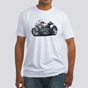 Goldwing Silver Trike Fitted T-Shirt