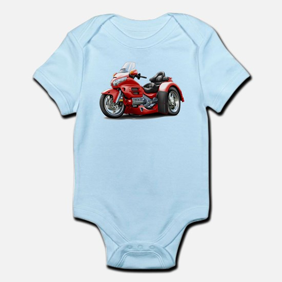 Goldwing Red Trike Infant Bodysuit