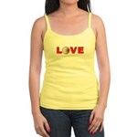 Volleyball Love 3 Jr. Spaghetti Tank